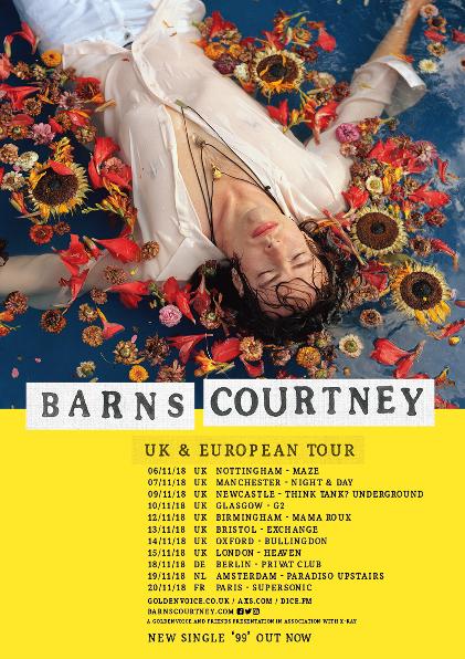 Barns Courtney tour 2018