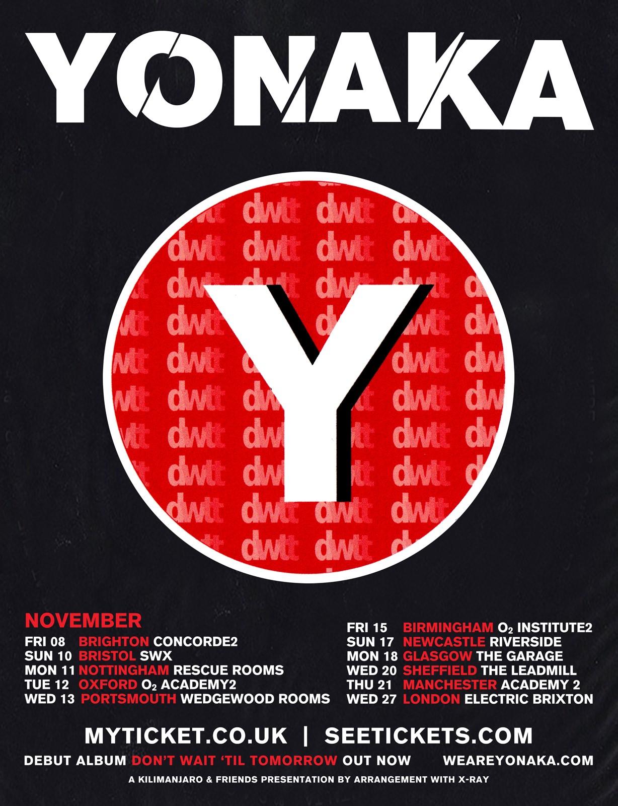 YONAKA - Nov 2019 UK tour