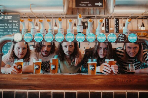 Blossoms Goose Island Hop Party 2019