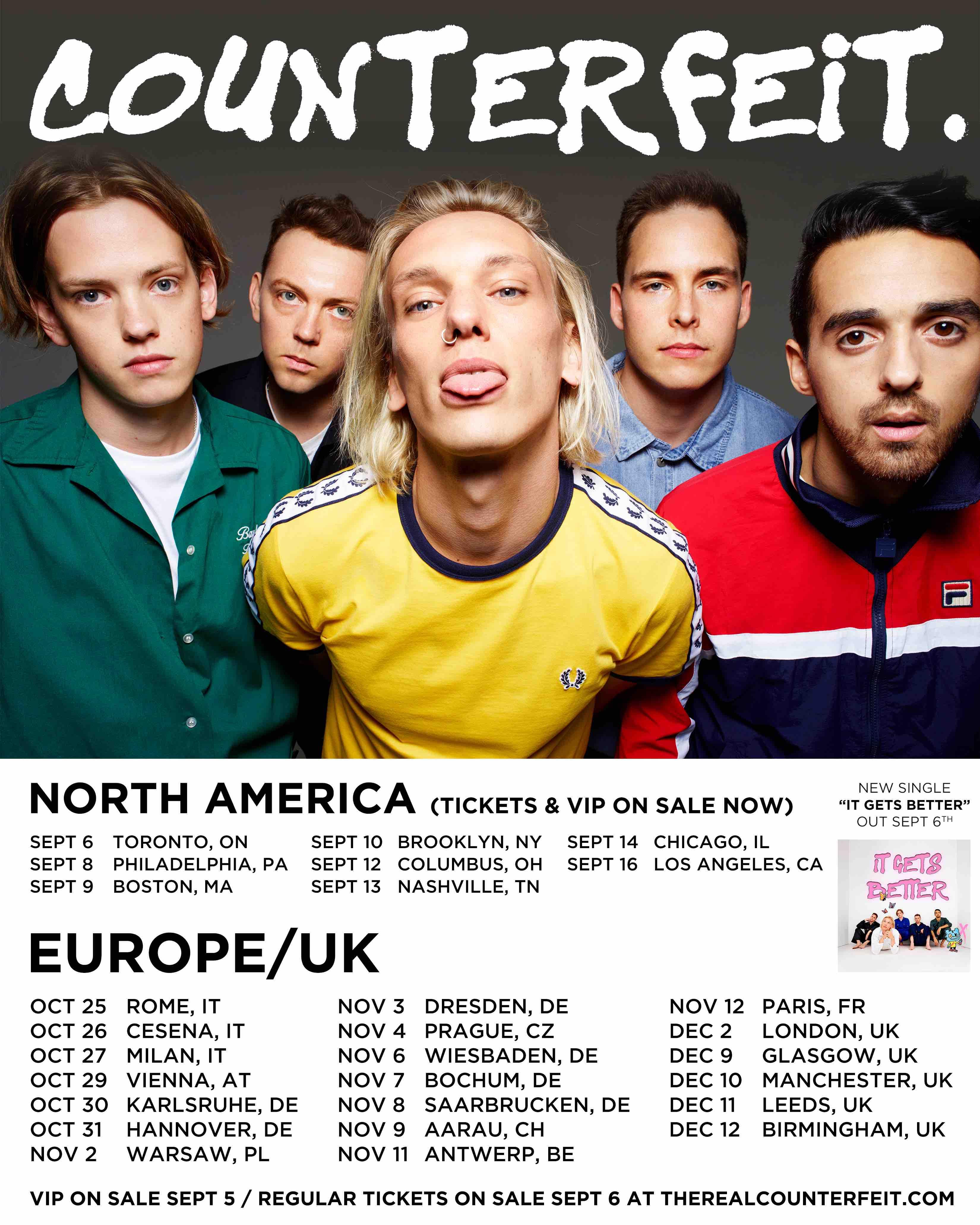 Counterfeit Tour 2019
