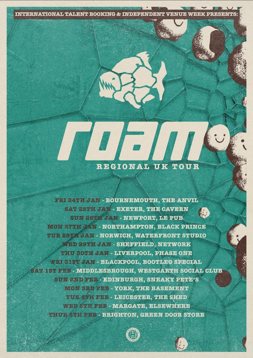 ROAM UK Tour 2020